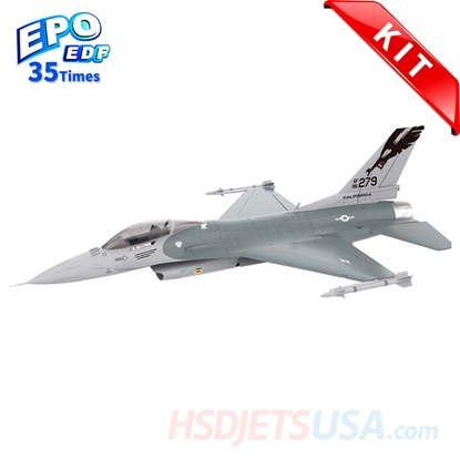 Picture of HSDJETS 105mmEDF F-16 Grey Colors KIT