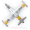 Picture of HSDJETS T-33 Foam Turbine Yellow ribbon Colors PNP XT60 plug