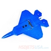 Picture of HSDJETS Mini Parkflyer F22-580 Blue RTF 2S Mode2