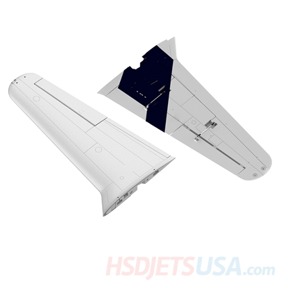 Picture of HSDJETS T-33 Foam Turbine Thunderbird Colors Main wing (pair)
