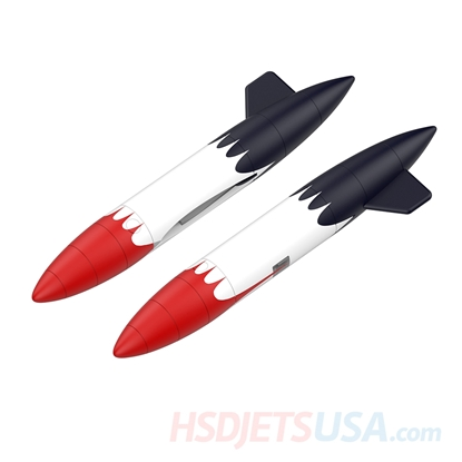 Picture of HSDJETS T-33 Foam Turbine Thunderbird Colors Auxiliary fuel tank