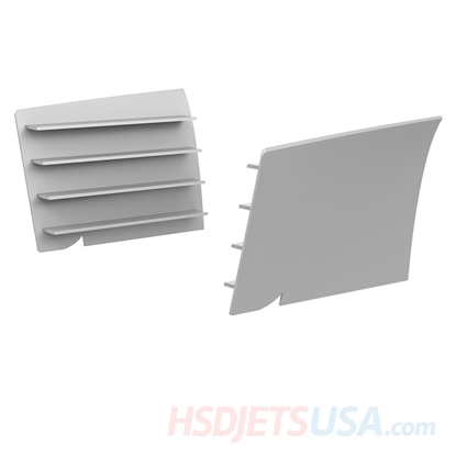 Picture of HSDJETS T-33 Foam Turbine Yellow ribbon + Thunderbird Colors Air inlet trim left and right