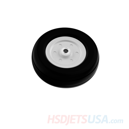Picture of HSDJETS T-33 front wheel Rubber tire + metal hub (assembled)