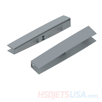 Picture of HSDJETS F-16 grey color Left and right fuselage horizontal tail connection fixing piece