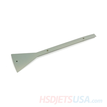 Picture of HSDJETS F-16 grey color Rear landing gear cover plate