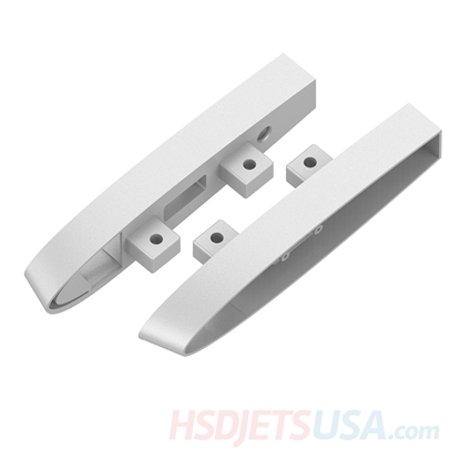 Picture of HSDJETS T-33 Foam Turbine Yellow ribbon color Left and right fuselage & Horizontal tail connection fixing piece