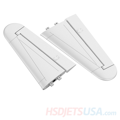 Picture of HSDJETS T-33 Foam Turbine Yellow ribbon color Horizontal tail (pair)