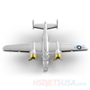 Picture of HSDJETS 1250mm HB-25 Silver Colors PNP