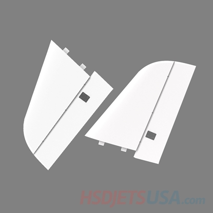 Picture of HSDJETS S-EDF 105mm Super Viper Navy color left and right horizontal tail