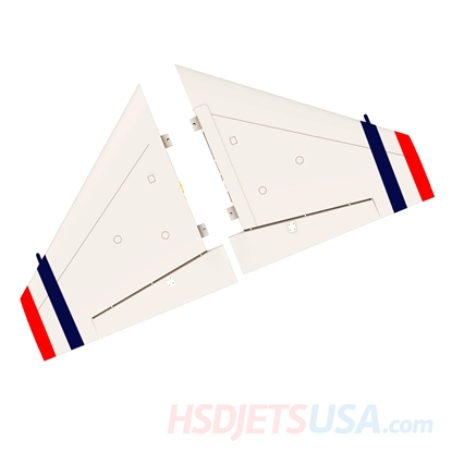 Picture of HSDJETS S-EDF 105mm HF-16 hunderbirds color left and right main wing