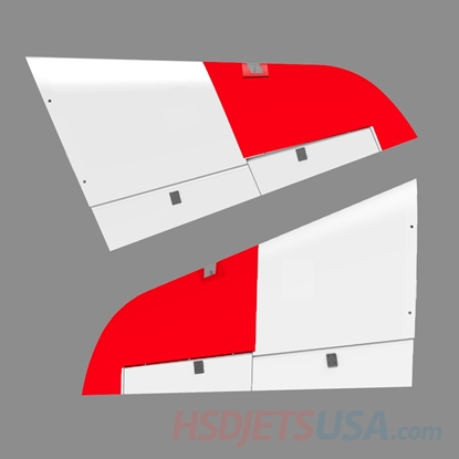 Picture of HSDJETS S-EDF 105mm Super Viper Navy color left and right main wing