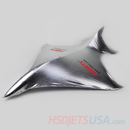 Picture of HSDJETS Super Viper Silver color Sun Cover