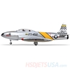 Picture of HSDJETS T-33 Foam Turbine Yellow ribbon Colors PNP+SWH-80B