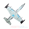 Picture of HSDJETS HL-39 Foam Turbine Blue Camo Colors PNP XT60 plug