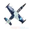 Picture of HSDJETS HL-39 Foam Turbine Blue Camo Colors KIT