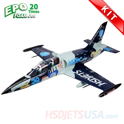 Picture of HSDJETS HL-39 Foam Turbine Blue Camo Colors KIT