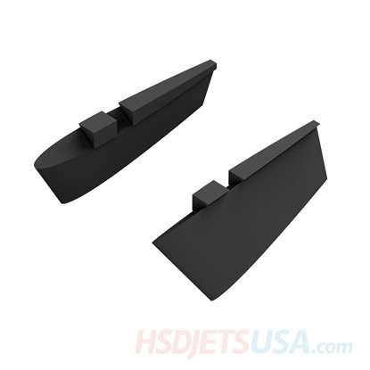 Picture of HSDJETS HF-16 Foam Turbine Black Camo Colors Caudal fin