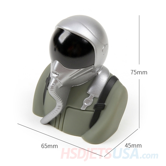 Picture of HSDJETS Pilot Green-Grey