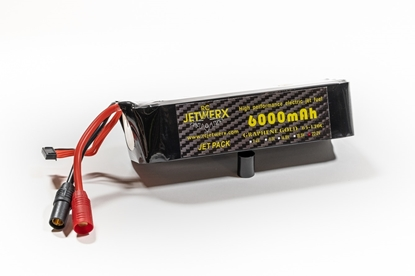 Picture of RC Jetwerx 6S 6000 65C Graphene Gold Lipo Battery Pack