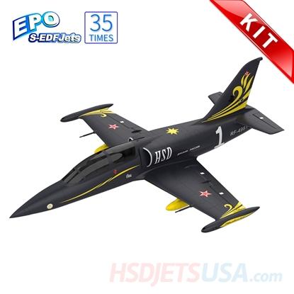 Picture of HSDJETS S-EDF 120mm HL-39 Black Gold Colors KIT
