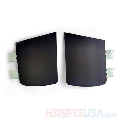 Picture of HSDJETS HL-39 Rear Landing gear cover plates L&R (Black Gold)