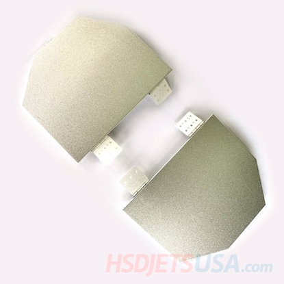 Picture of HSDJETS HF-86 Rear Landing gear cover plates L&R (Yellow ribbon)